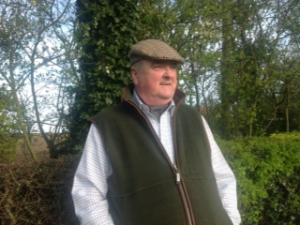 Picture shows Cllr John Williams standing in the countryside